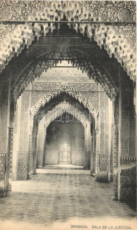 Granada, Alhambra, Sala de la Justicia