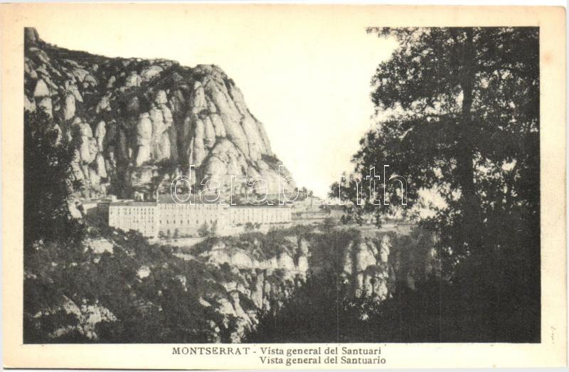 Montserrat, Vista general del Santuari