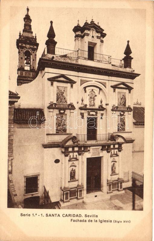 Sevilla, Santa Caridad, Fachada de la Iglesia