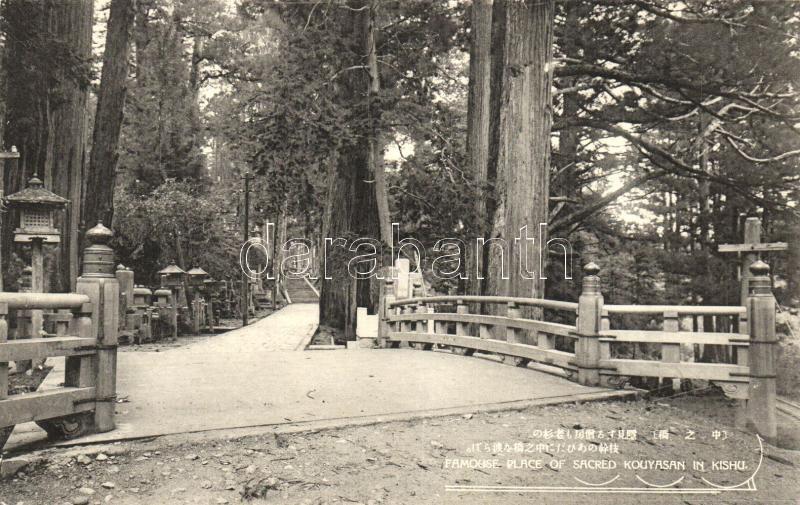 Kyushu, Kishu; Famous placec in sacred Kouyasan