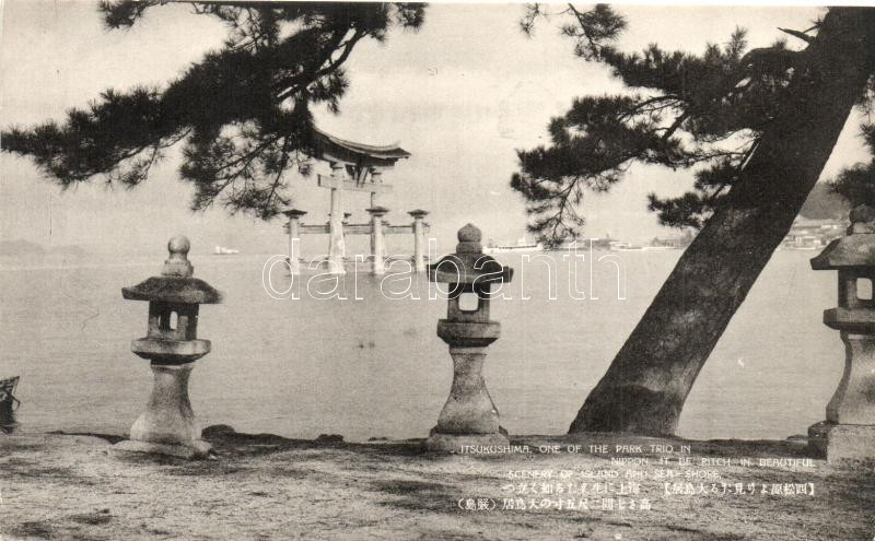 Nippon, Itsukushima one of the Park Trio