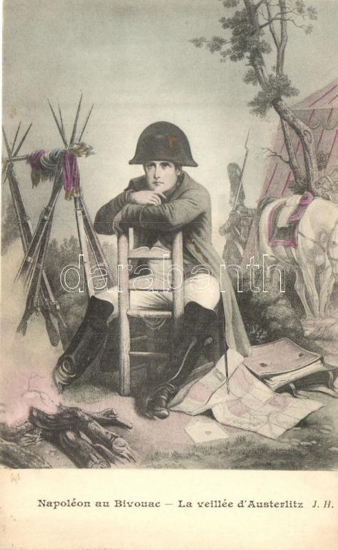 Napoleon au Bivouac, La veillee d'Austerlitz