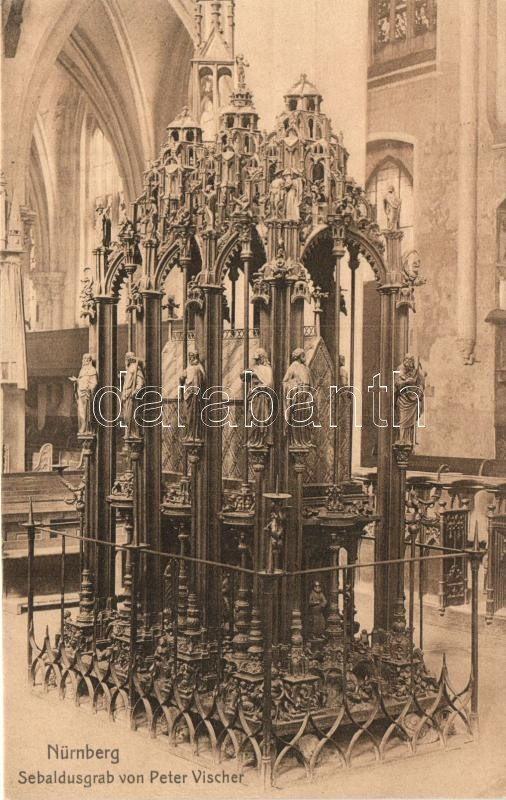 Nürnberg, Sebaldusgrab von peter Vischer / tomb
