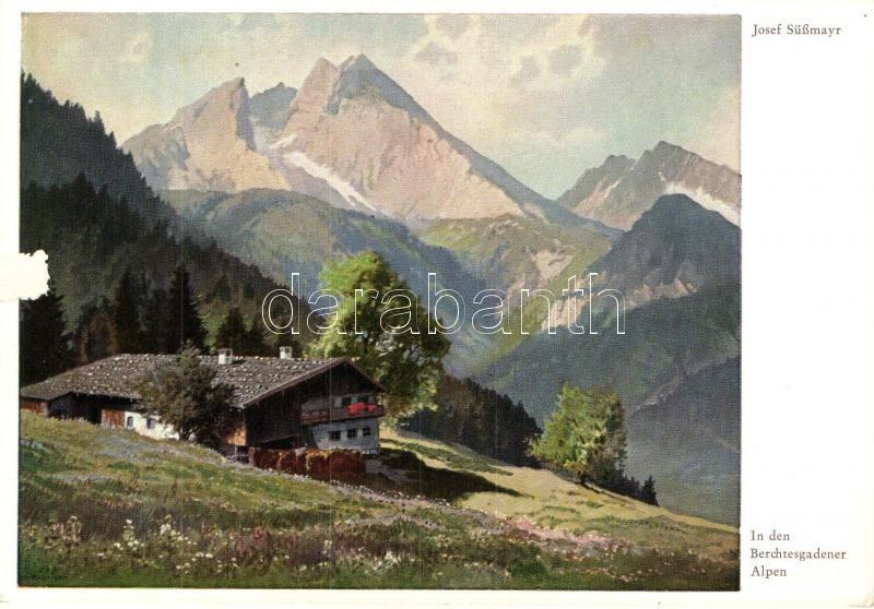 In den Berchtesgadener Alpen, Wiechmann Bildkarten Nr. 328. s: Josef Süssmayr