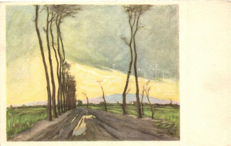 Tavaszi eső után s: Benkhardt Ágost