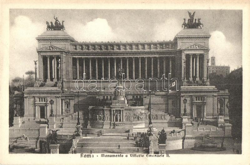 Rome, Roma; Monumento a Vittorio Emanuele II