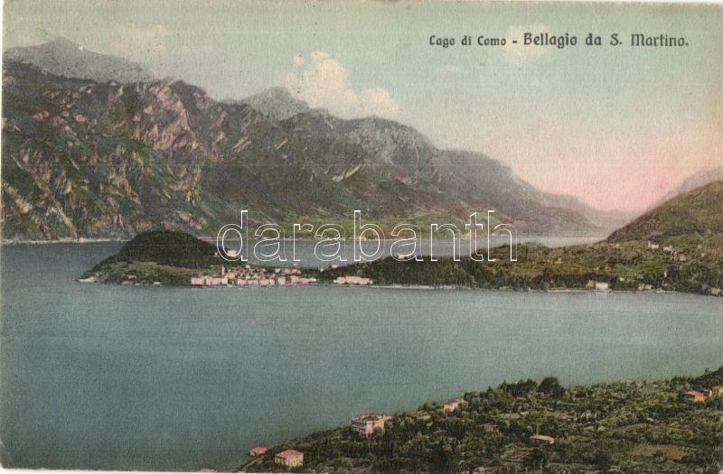 Lago di Como, Bellagio da S. Martino