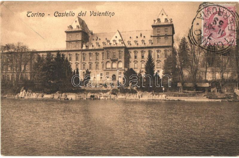 Torino, Turin; Castello del Valentino, TCV card