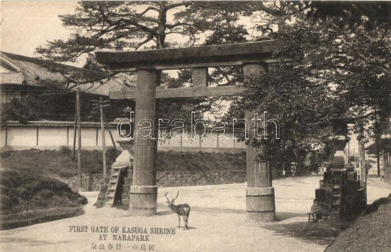 Nara Park, First gate of Kasuga Shrine
