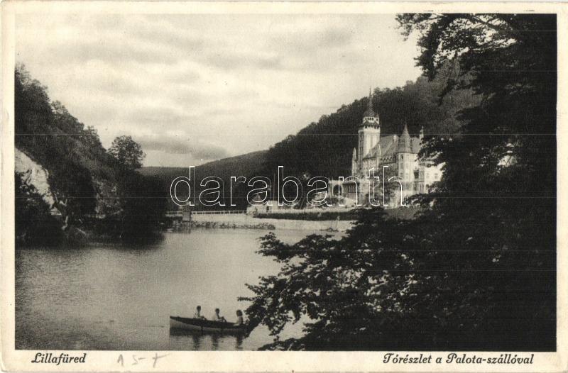 Lillafüred, Palota szálló, tó