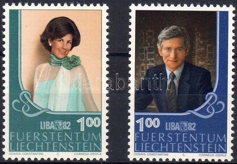 Stamp Exhibiton LIBA ´82 pair, LIBA ´82 Bélyegkiállítás pár