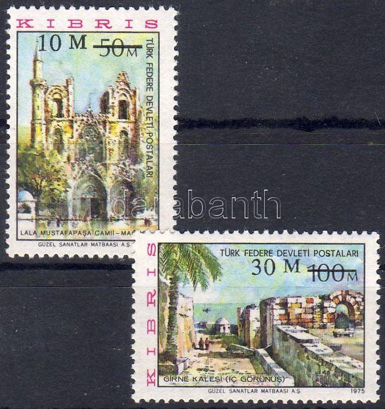 Monuments set with new declaration of value, Műemlékek sor új értékmegjelöléssel, Denkmäler Satz mit neuer Wertangabe