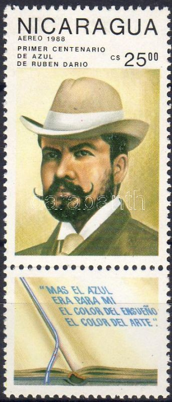 100th anniversary of the publishing of Rubén Darío's book with title