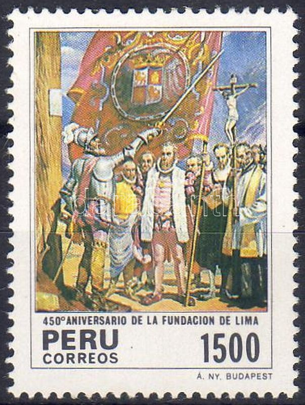 450th anniversary of the city Lima, Lima 450 éves, 450 Jahre Stadt Lima