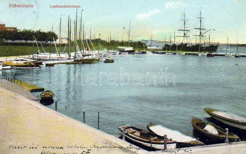 Copenhagen yacht port, Koppenhága jacht kikötő
