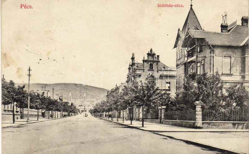 Pécs, Indóház utca