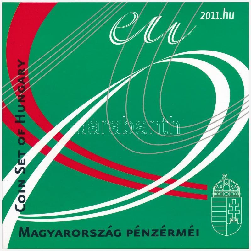 2011. 1Ft-200Ft (6xklf) coin set, 2011. 1Ft-200Ft (6xklf) forgalmi sor