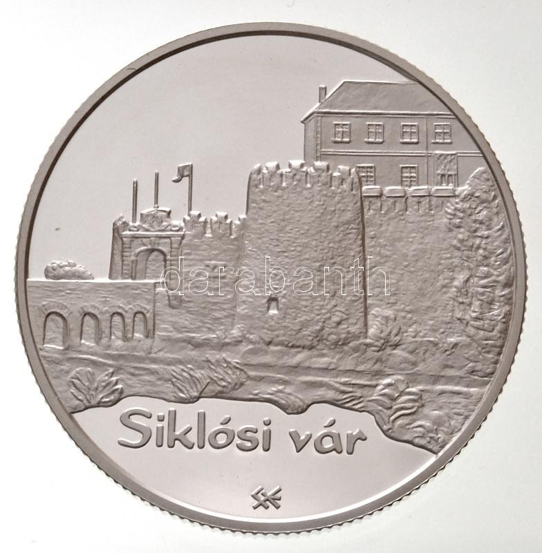 """2008. 5000 Forints """"Castles - Siklós"""", 2008. 5000Ft """"Várak - Siklós"""""""