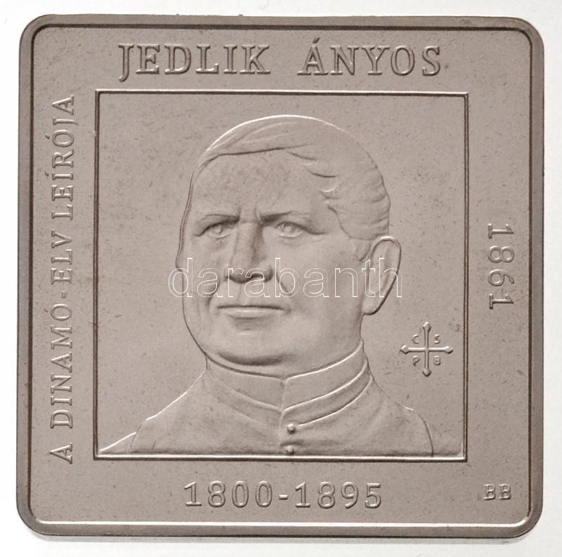 """2011. 1000 Forint """"Hungarian Inventors, Engineers - Ányos Jedlik"""", 2011. 1000Ft """"Magyar feltalálók, mérnökök - Jedlik Ányos"""""""