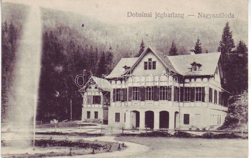 Dobsina, Jégbarlang, Nagyszálloda, Dobsina, Ice cave, Grand Hotel