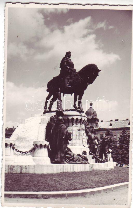 Cluj-Napoca, Matthias Corvinus statue, Kolozsvár, Mátyás király szobor