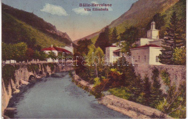 Baile Herculane, Villa Elisabeta, Herkulesfürdő, Villa Elisabeta