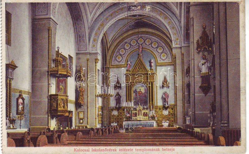 Kalocsa, Iskolanővérek Intézetének temploma, belső