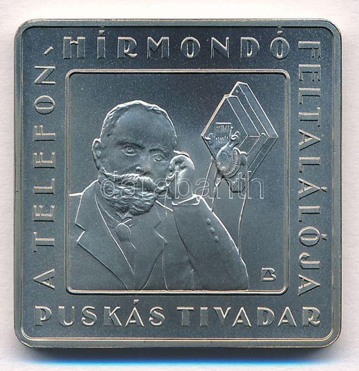 """2008. 1000Ft """"Telefonhírmondó - Puskás Tivadar"""""""