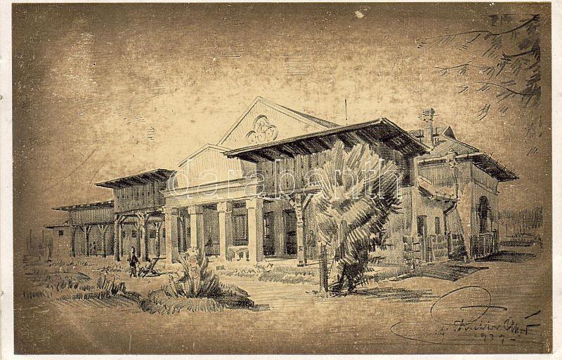 Balatonkenese, Székesfővárosi Alkalmazottak Üdülőtelepe, Játékház s: ifj. Richter Aladár