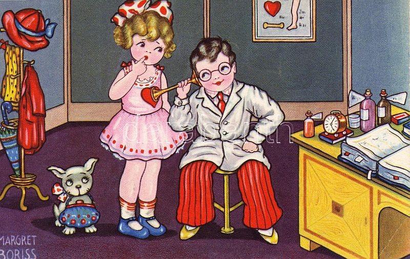 Children, love, humour s: Margret Boriss, Gyerekek, szerelem, humor s: Margret Boriss