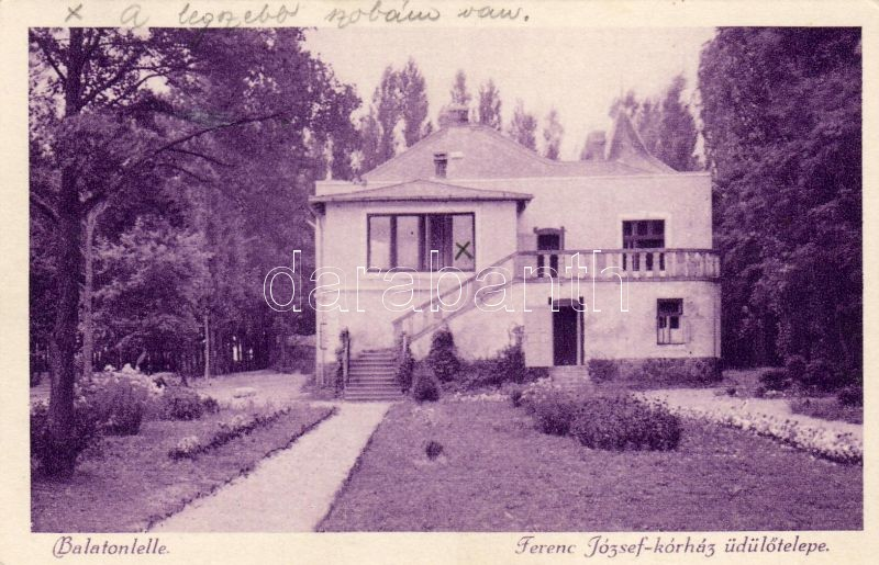Balatonlelle, Ferenc József kórház üdülőtelepe
