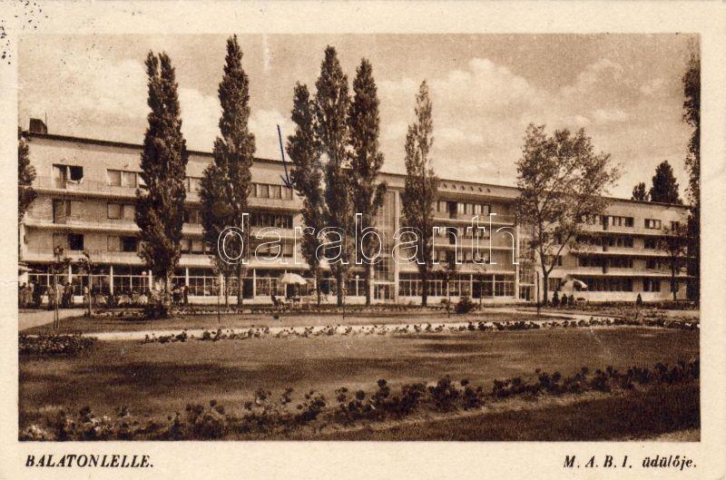 Balatonlelle, M.A.B.I üdülő