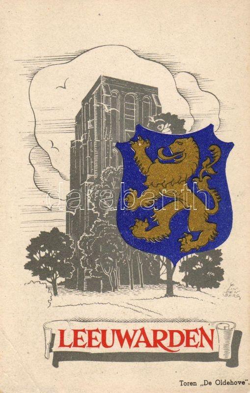 Leeuwarden, Oldehove, coat of arms s: Lindenberg