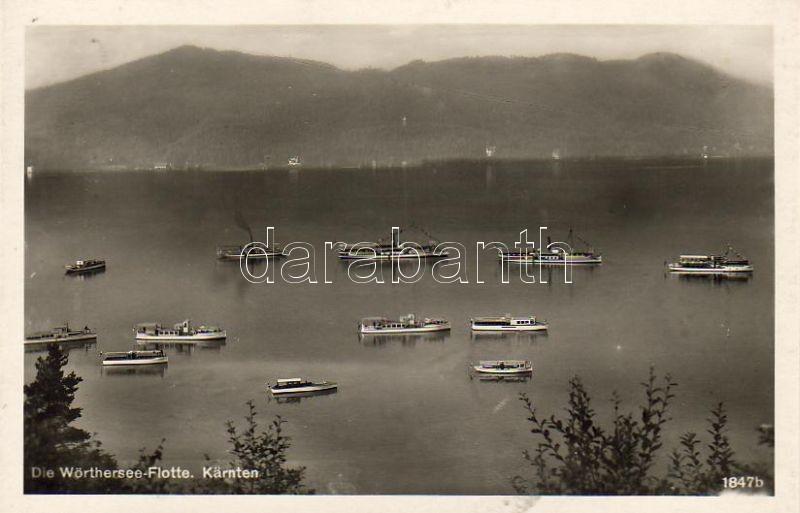 Wörthersee fleet, Wörthersee flotta