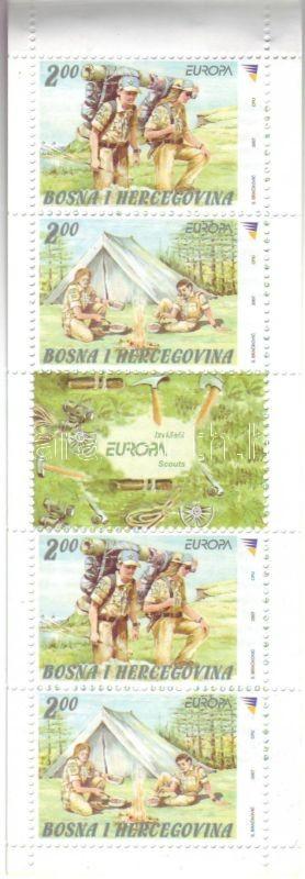 Europa CEPT 100th anniversary of scout movement pairs, Europa CEPT 100 éves a cserkészmozgalom bélyegpárok, Europa CEPT: Pfadfinder Paaren