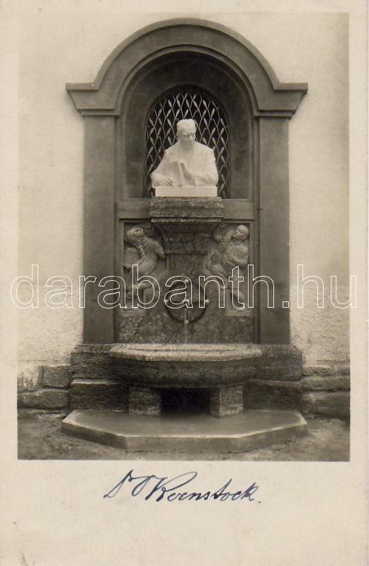 Wenigzell Ottokar Kernstock monument, Wenigzell Ottokar Kernstock emlkékmű