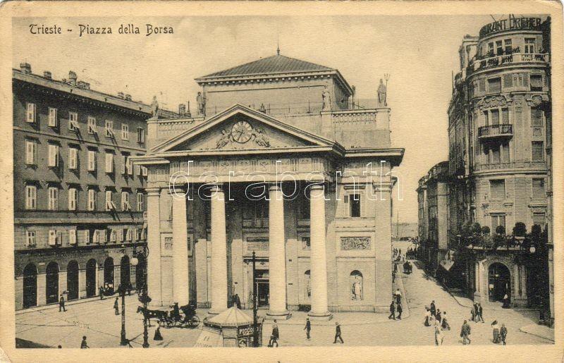 Trieste Piazza della Borsa, Trieste Piazza della Borsa