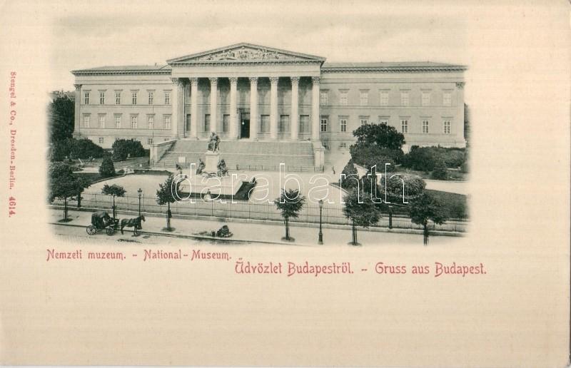 1899 Budapest VIII. Nemzeti Múzeum