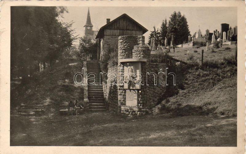 Staré Hamry cemetery, Saint Henry Church, Staré Hamry temető templommal