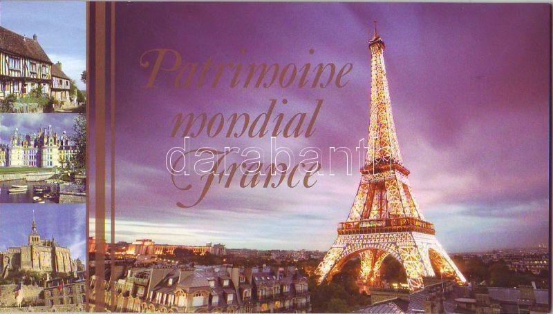 World heritage: France stamp booklet, Világörökség: Franciaország bélyegfüzet, Welterbe: Frankreich Markenheftchen