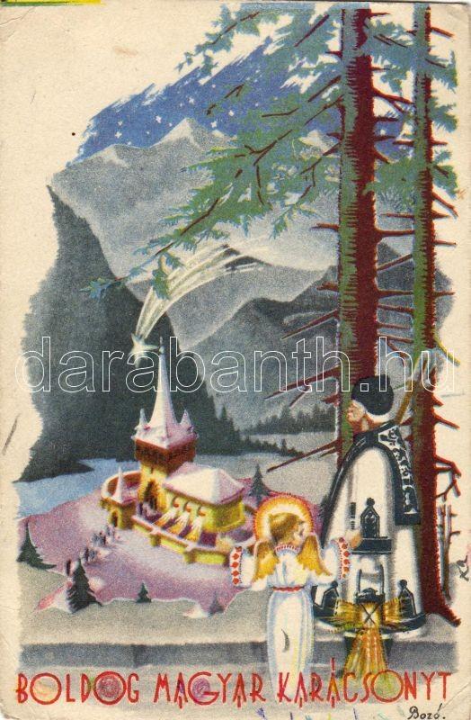 Christmas, Hungarian folklore s: Bozó, Karácsony, magyar folklór s: Bozó
