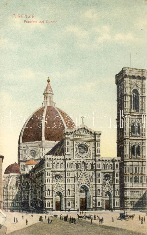Firenze, facade of the Cathedral