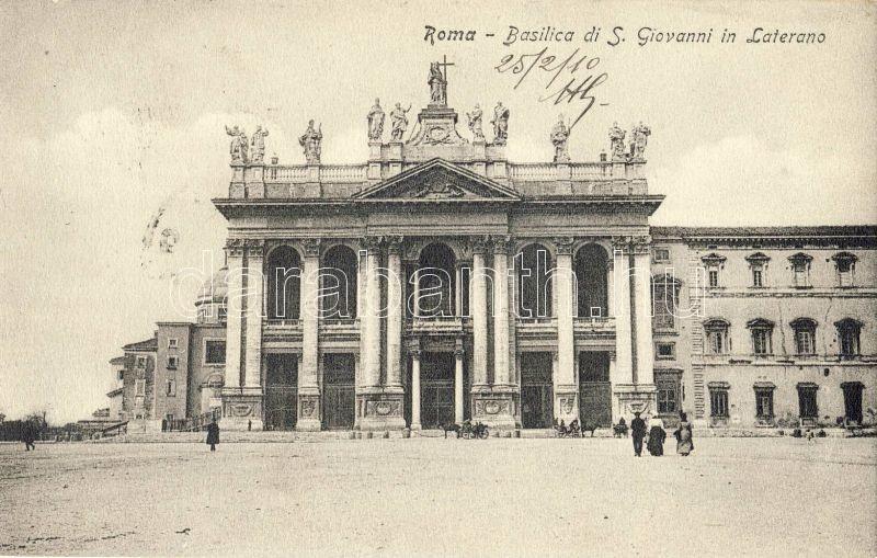 Rome, Roma; Basilica di S. Giovanni in Laterno