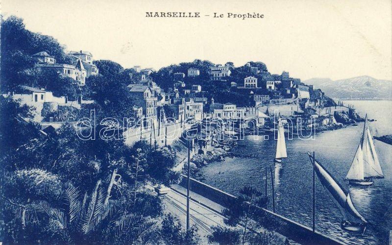 Marseille, Le Prophete / port, sailing ships