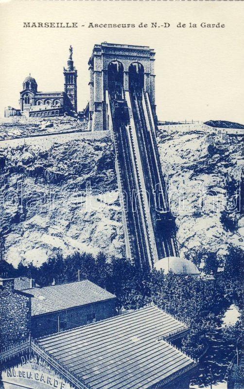 Marseille, Ascenseurs de N.D. de la Garde / funicular
