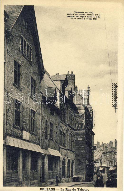 Orleans, Rude du Tabour / street
