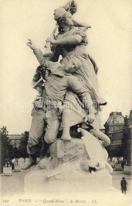 Paris, Quand Meme, de Mercie / monument