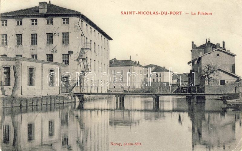 Saint-Nicolas-de-Port, Filature / spinning mill