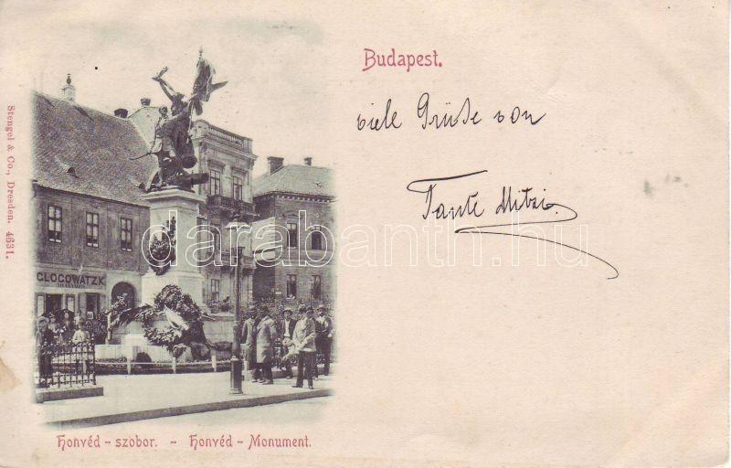 1898 Budapest I. Honvéd zsobor