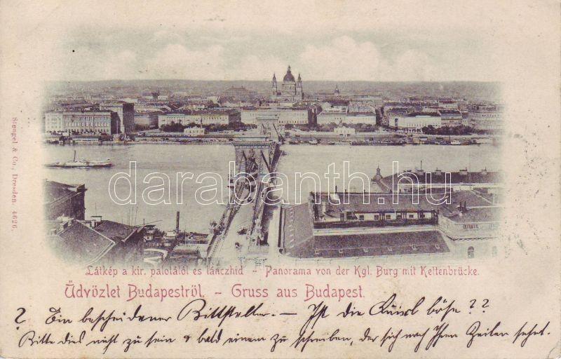 1898 Budapest Lánchíd